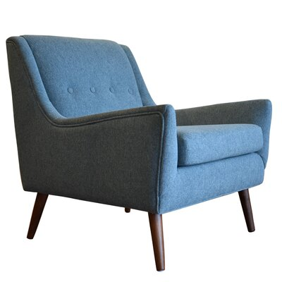Rex Armchair Upholstery: Light Blue