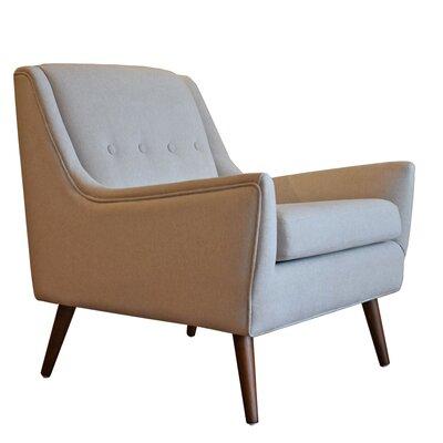 Rex Armchair Upholstery: Cream