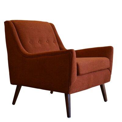 Rex Armchair Upholstery: Brick