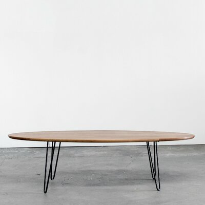 Surf Board Coffee Table Color: Light Walnut