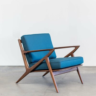 Gwendolyn Armchair Upholstery: Blue