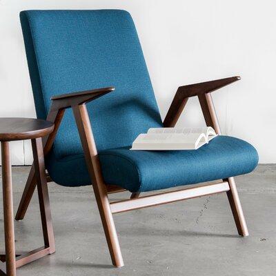 Duren Armchair Upholstery: Azure Blue