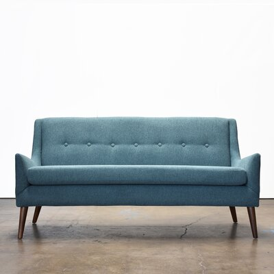 Rex Loveseat Upholstery: Light Blue