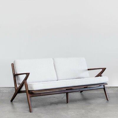 Gwendolyn Mid-Century Modern Sofa Upholstery: Cream