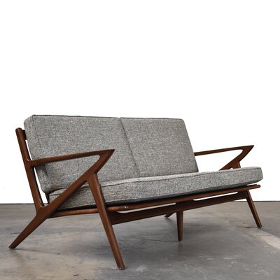 Gwendolyn Mid-Century Modern Sofa Upholstery: Mineral