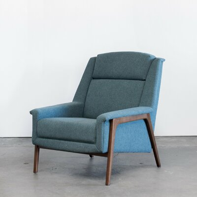 Joselyn Armchair Upholstery: Light Blue