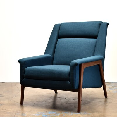 Joselyn Armchair Upholstery: Azure