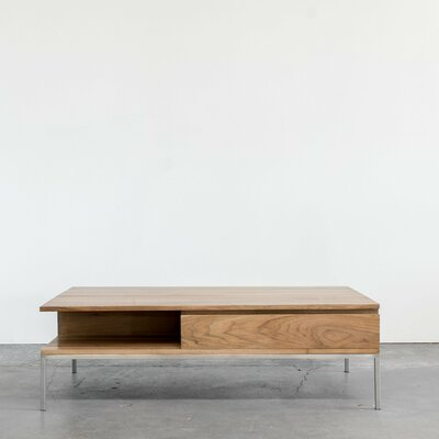 Soho Coffee Table Color: Light Walnut