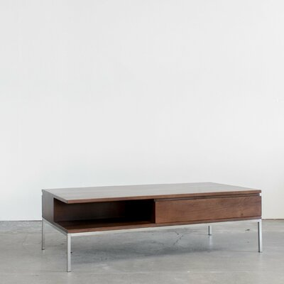 Soho Coffee Table Color: Classic Walnut