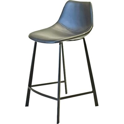 Pablo 24 Bar Stool Finish: Dark Gray