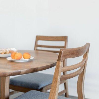 Oak Park Dining Table Color: Light Walnut