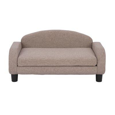 Dog Sofa Color: Brown