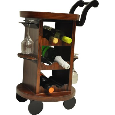 Decorvilla 6 Bottle Floor Wine Rack