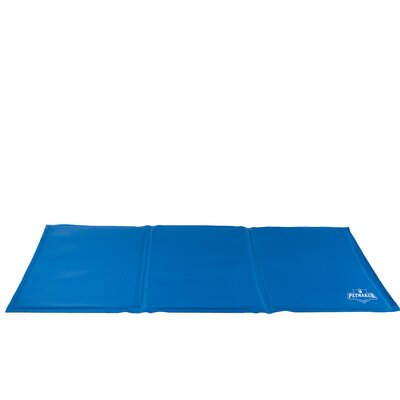 Self Cooling Pet Mat with Cool Gel Technology Size: Large (19.5 L x 35 W)