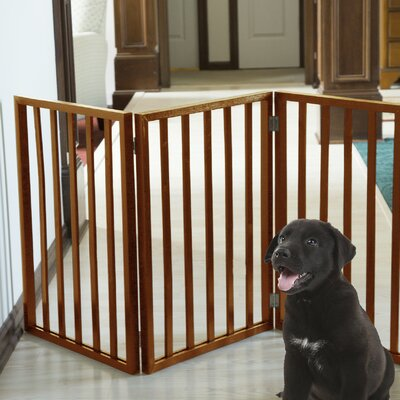 Halton Freestanding Wooden Pet Gate
