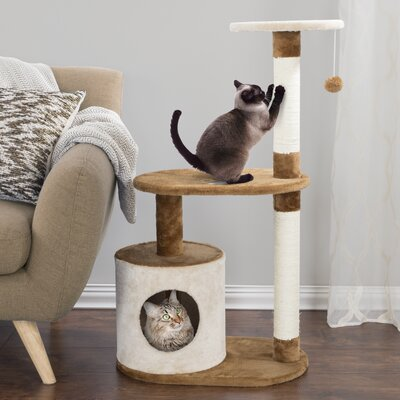 38 3-Tier Cat Tree