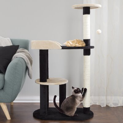 42 3-Tier Cat Tree