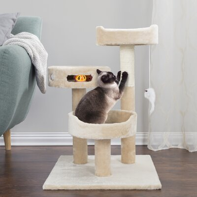 Hargraves 28 3-Tier Cat Tree