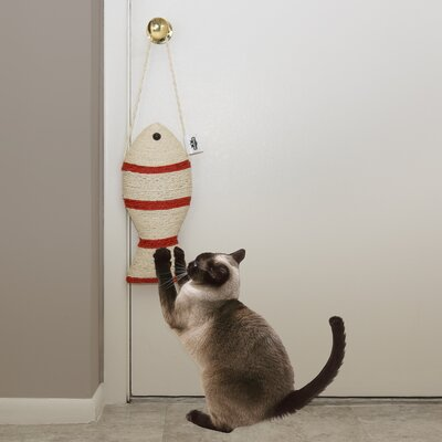 Hodges Fish Cat Toy Scratching Post