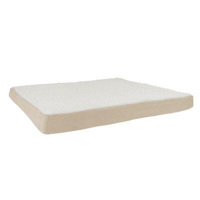 Orthopedic Sherpa Memory Foam Dog Mat Size: Extra-Large (44 W x 35 D), Color: Tan