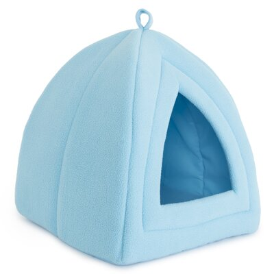Cozy Kitty Tent Cat Bed Color: Blue