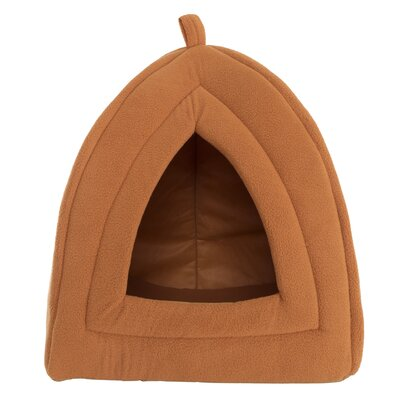 Cozy Kitty Tent Cat Bed Color: Brown