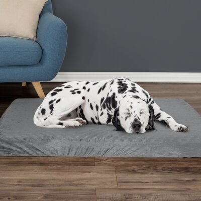 Orthopedic Dog Pad Size: Large, Color: Gray