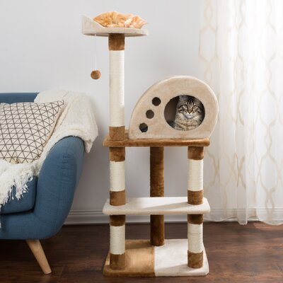 Kedzie 48 4-Tier Cat Tree