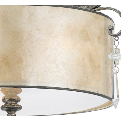 Sheila Large Semi Flush Mount