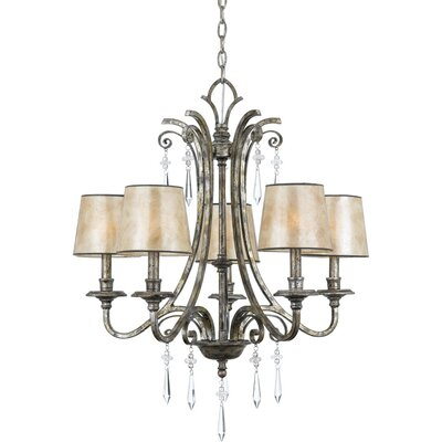 Kendra 5-Light Shaded Chandelier