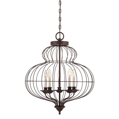 Aaden 5-Light Foyer Pendant