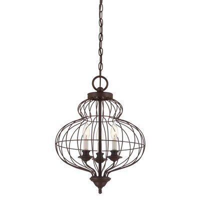 Laila 3-Light Foyer Pendant