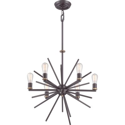 Uptown Carnegie 6-Light Sputnik Chandelier Size: 8 Light