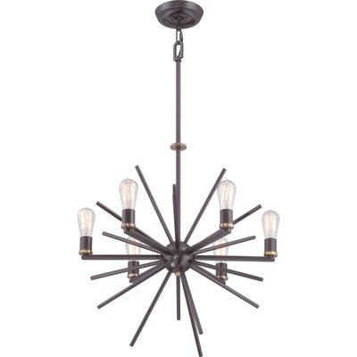 Sandefur 6-Light Sputnik Chandelier Size: 6 Light