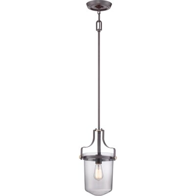Uptown Penn Station 1-Light Mini Pendant Finish: Western Bronze