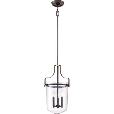 Uptown Penn Station 3-Light Mini Pendant Finish: Western Bronze