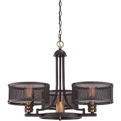 Ketaiya 3-Light Drum Chandelier