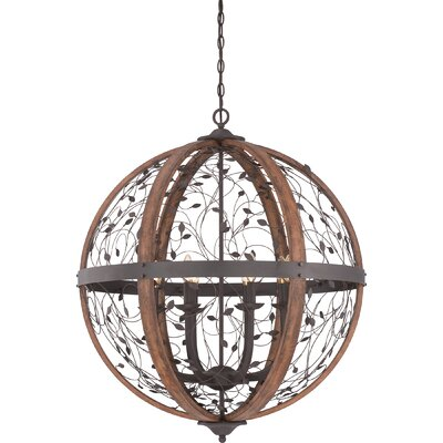 Travers 8-Light Globe Pendant Size: 35.5 H x 30.5 W x 30.5 D
