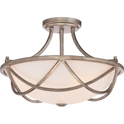 Hedda 2-Light Shaded Chandelier
