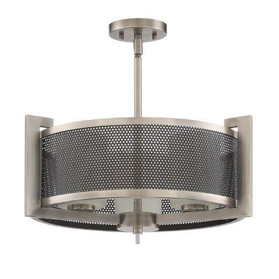 Concord 3-Light Drum Pendant