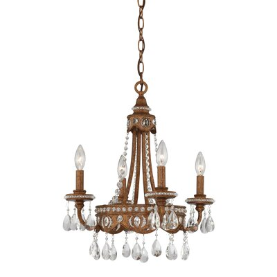 Laurius 4-Light Crystal Chandelier