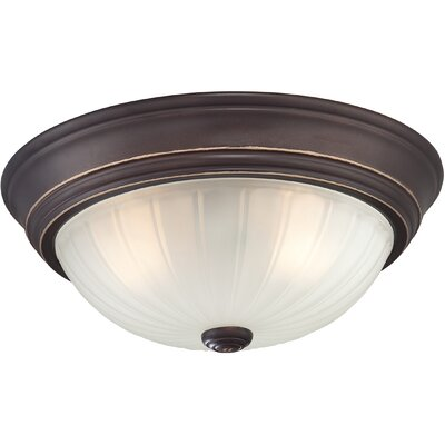 Brummett 2-Light Flush Mount