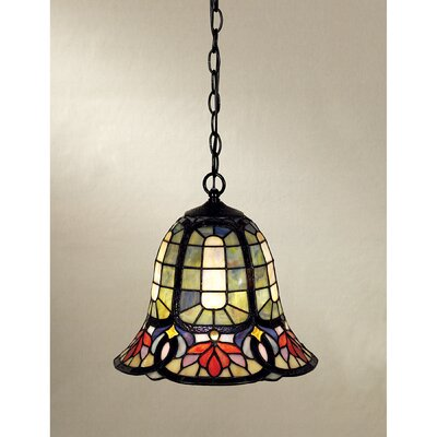 Tadler 1-Light Tiffany Pendant