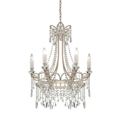 Shelbourne 6-Light Crystal Chandelier