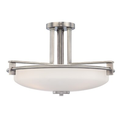 Burchell Semi Flush Mount