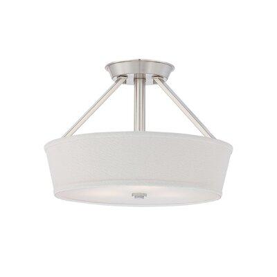 Waverly 3-Light Semi Flush Mount