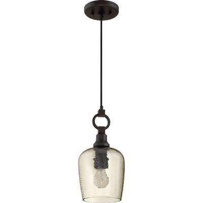 Caden 1-Light Mini Pendant Size: 14.5 H x 7 W x 7 D