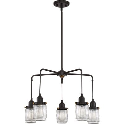 Burgess 5-Light Candle-Style Chandelier