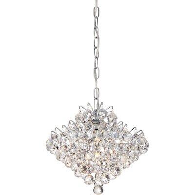 Faun 4-Light Crystal Pendant