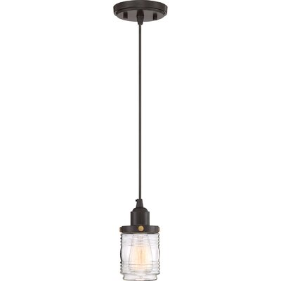 Burgess 1-Light Mini Pendant